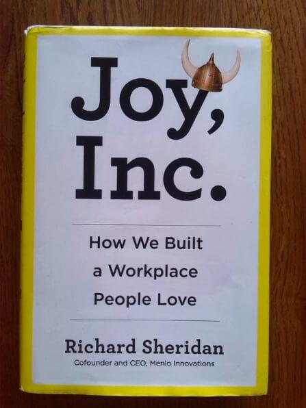 Joy Inc Book