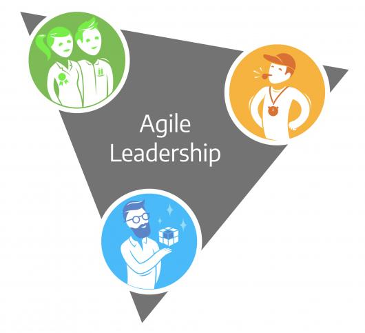 Agile leadership triangle